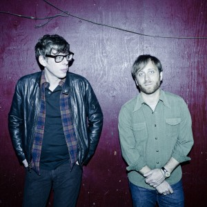 Dan Auerbach (guitar, vocals) and Patrick Carney (drums) live