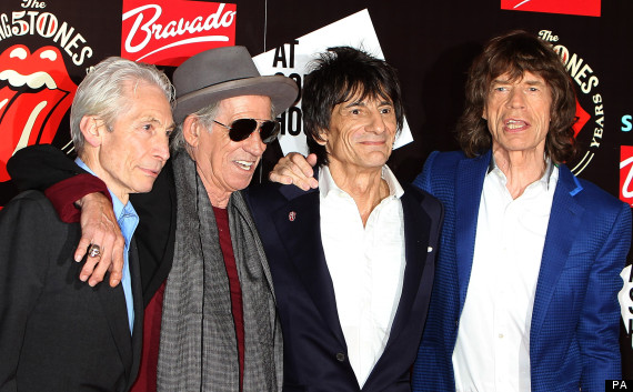 The Rolling Stones 50 launch London