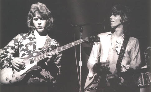 keith richards and mick taylor playing guitar