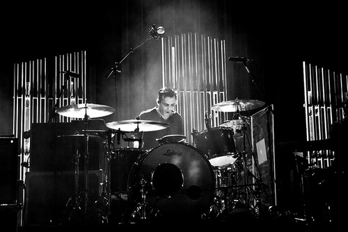 Sam Fogarino Interpol Drum Kit Player