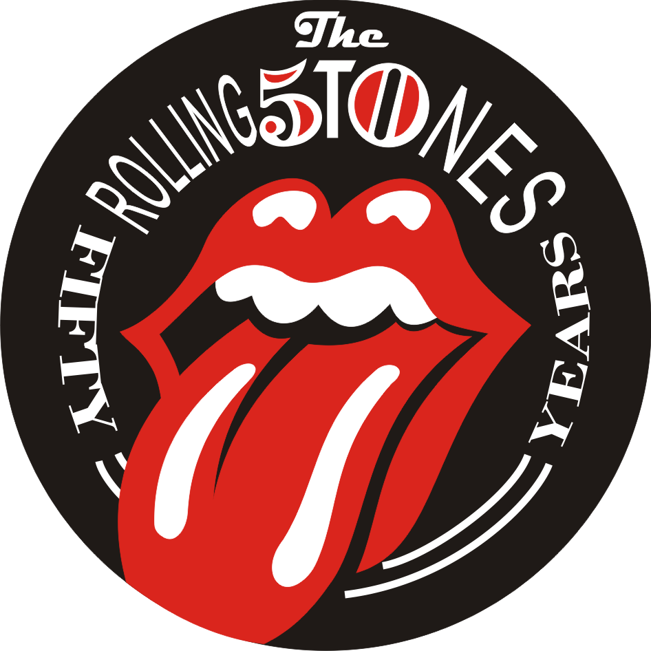 The Rolling Stones Logo Tongue