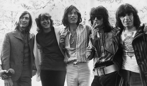 The Rolling Stones in 1968-1972 with mick taylor