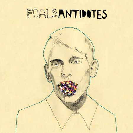 Foals Antidotes cover album