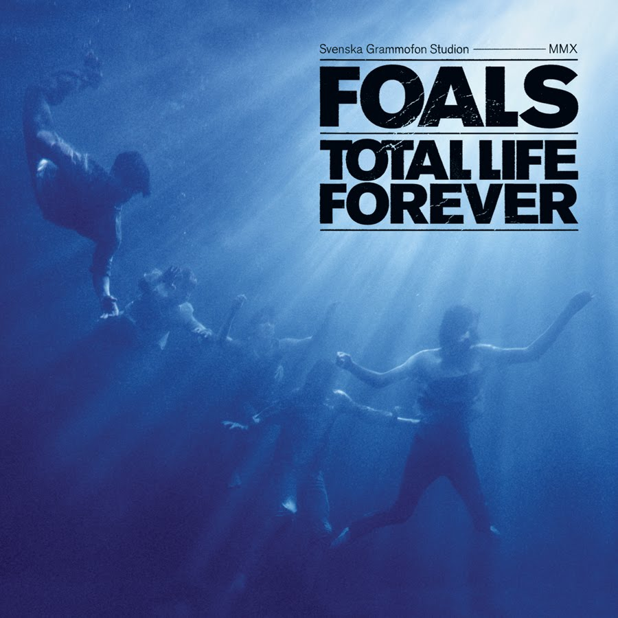 Foals Total Life Forever cover album
