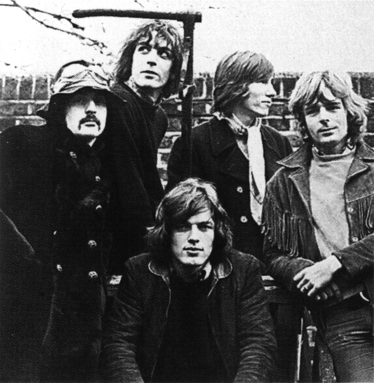 The Five member Pink Floyd Young Pink Floyd