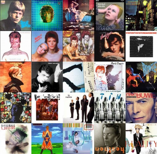 david bowie albums list