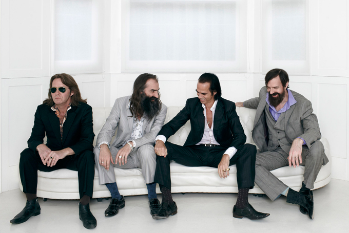 Grinderman nick cave group photo wallpaper