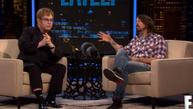 elton john dave grohl chelsea lately new 2013 qotsa album