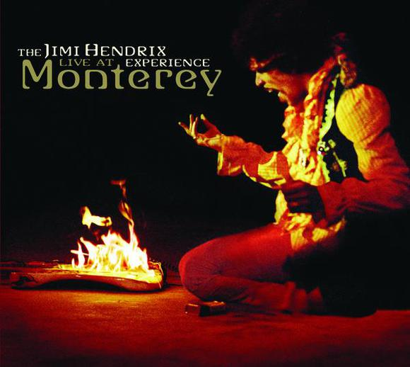 jimi hendrix experience live at monterey cover album