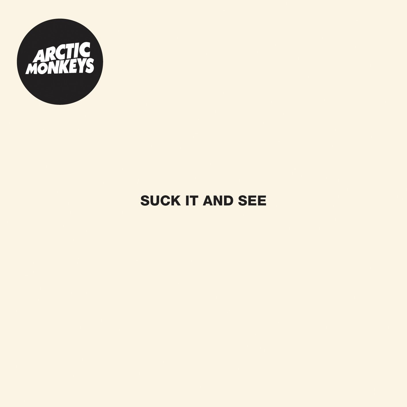 arctic monkeys suck it and see 2011 cover album