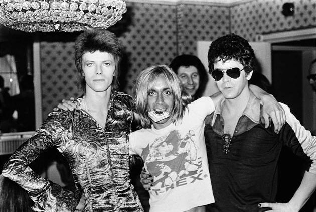 iggy pop david bowie lou reed
