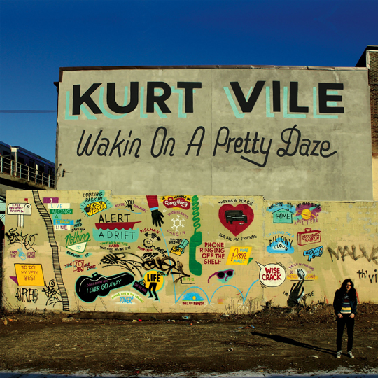 kurt vile walkin on a pretty daze cover