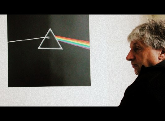 storm thorgerson Pink floyd dark side of the moon
