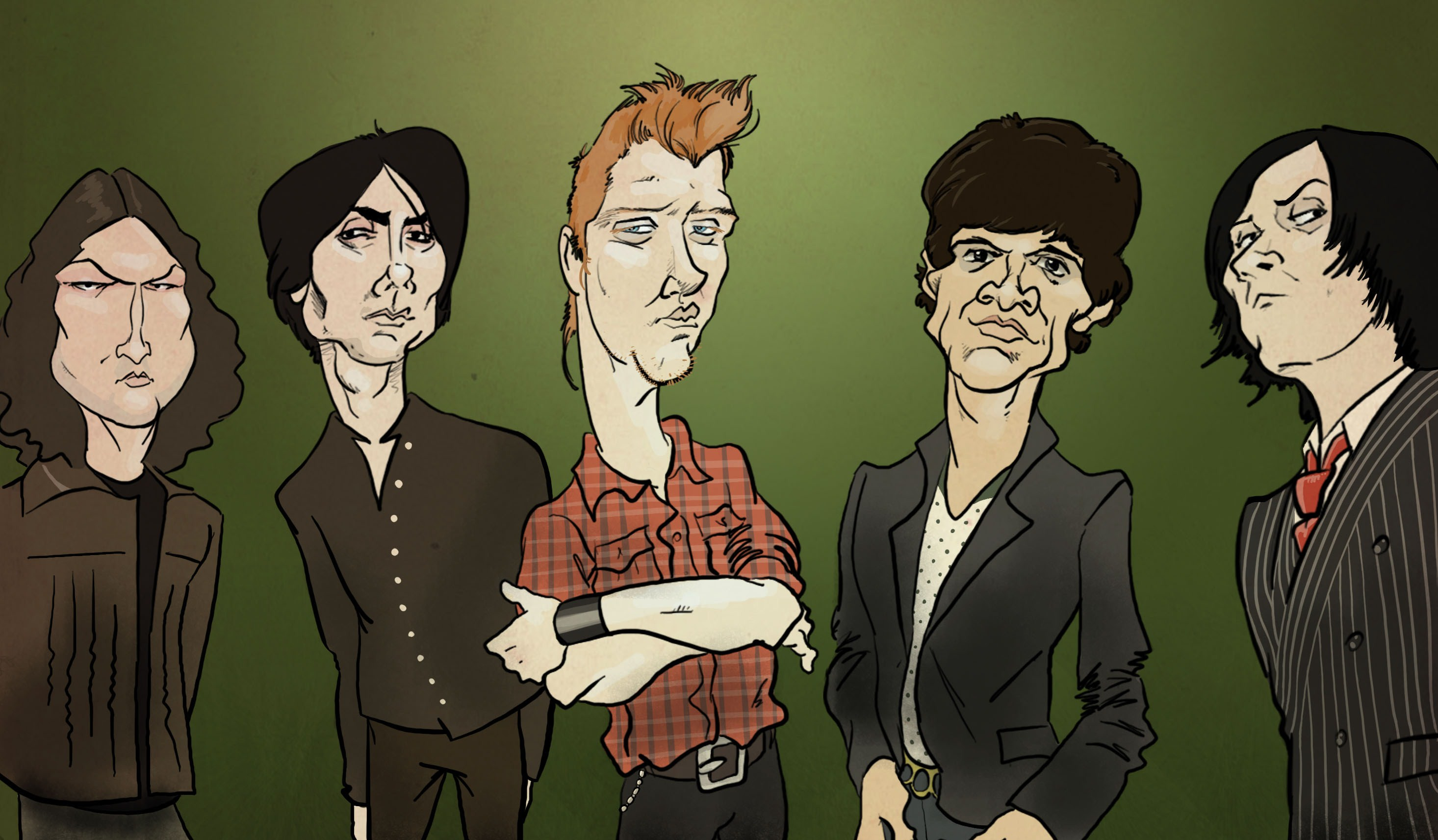 Queens Of The Stone Age cartoon