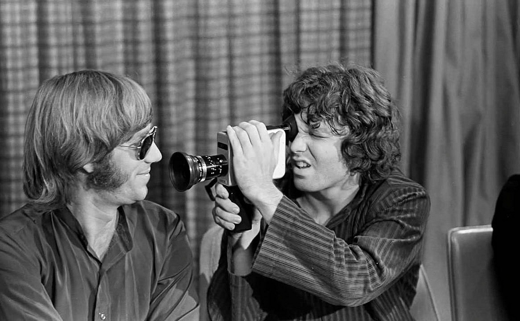 jim morrison and ray manzarek