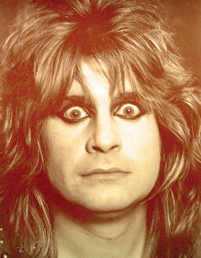 ozzy osbourne crazy picture