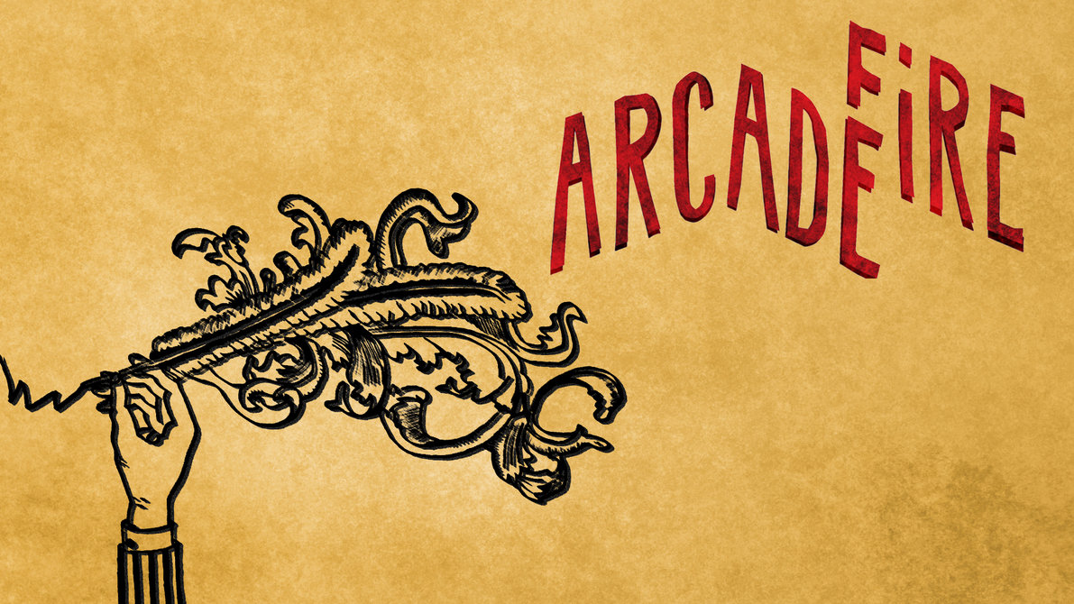 arcade fire hd wallpaper