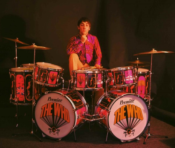 keith moon drum kit colour