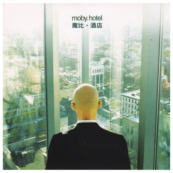moby hotel album cover