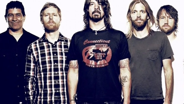 Foo Fighters band in 2013
