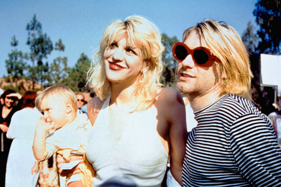 Nirvana Kurt Cobain Courtney Love BFrances Bean