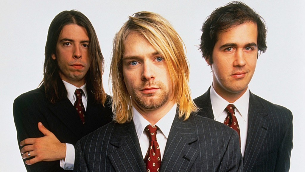 nirvana hd photo band members