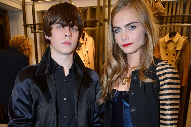 19 year old Jake Bugg and his girlfriend Cara Delevingne