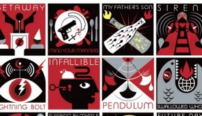 artwork from pearl jam lightning bolt new album 2013