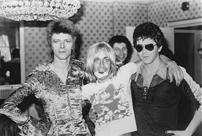 david bowie iggy pop lou reed classic photo