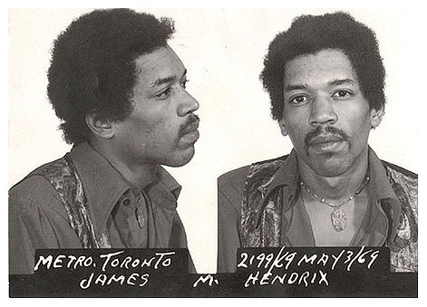 jimi hendrix drug use prison photo