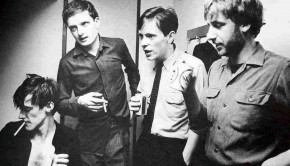 joy division band picture black and white