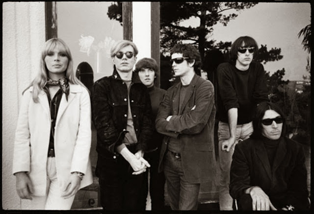 Classic velvet underground formation with andy warhol 1966
