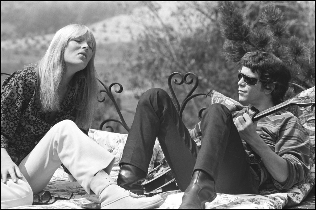 Nico and Lou Reed rare photo