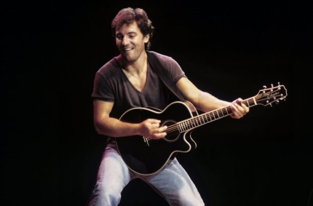 bruce springsteen young live in the eighties