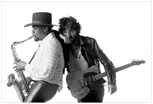 clemons and springsteen alternative photos for 1975 born to run album