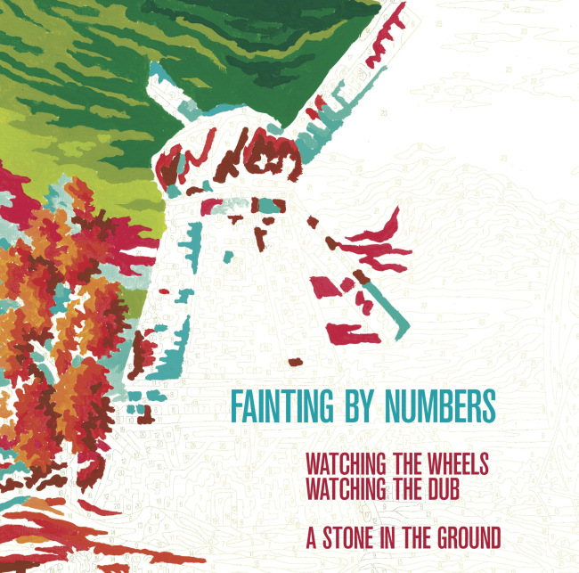 fainting by numbers watching the wheels a stone in the ground
