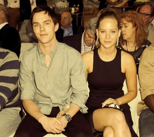 jennifer lawrence with boyfriend