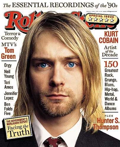 kurt cobain rolling stone cover blue eyes