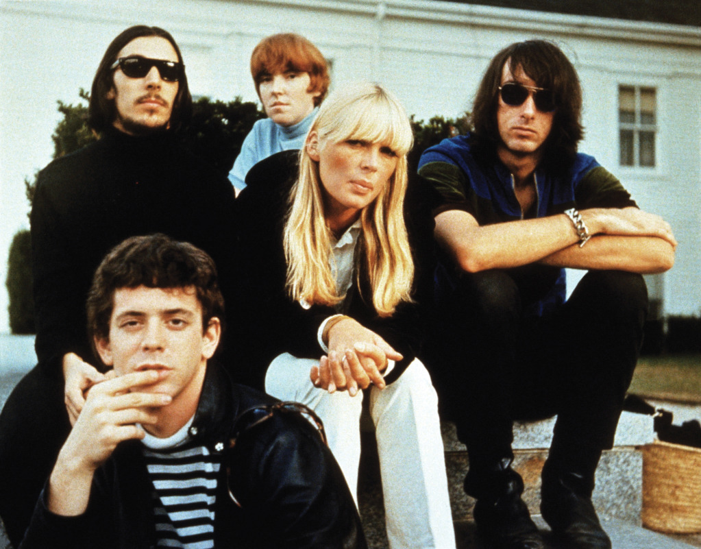 the velvet underground and nico classic color photo from1967
