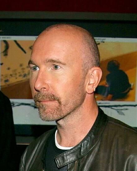 u2 the edge with no hat and hair