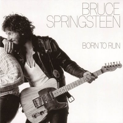 Bruce Springsteen Born To Run Front