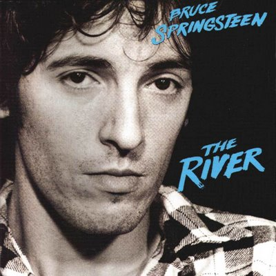 Bruce Springsteen The River front cover