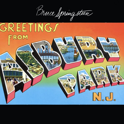 Greetings From Asbury Park, N.J bruce springsteen