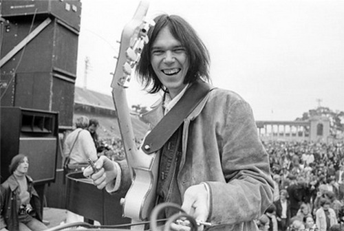 Neil Young Crowd Live Show