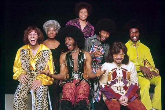 Sly & the Family Stone Members 1971 afro awesome hair