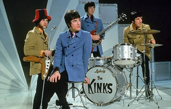 The Kinks live colour 1964