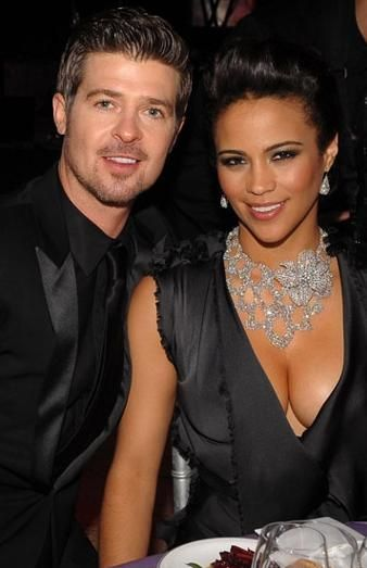 robin thicke and his hot wife paula patton