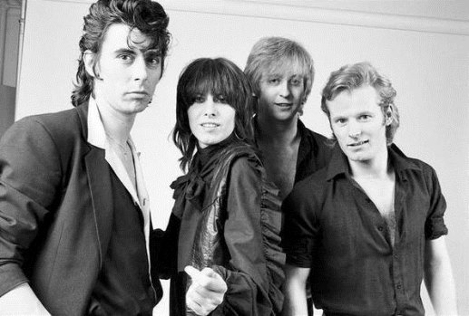 the pretenders black and white