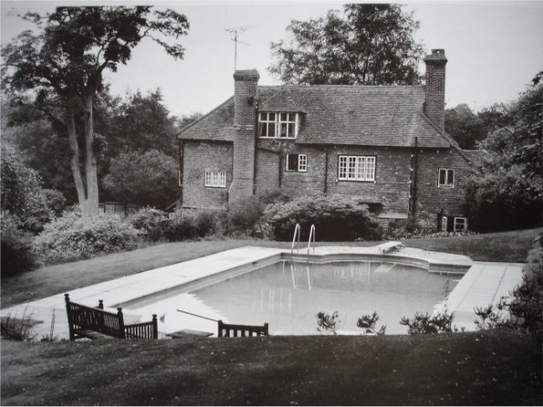 Swimming Pool where Brian Jones of rolling stones dies in 1969