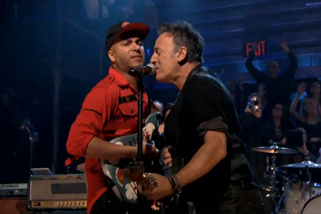 bruce springsteen wallpaper with tom morello rage against the machine